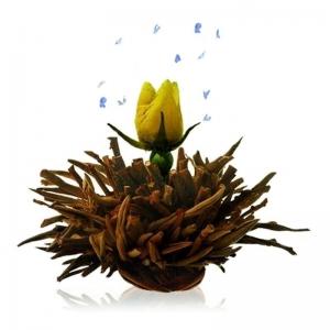 Čierny kvitnúci čaj Šepot vulkánu