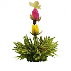 Kvitnúci čaj s príchuťou Citrónu
